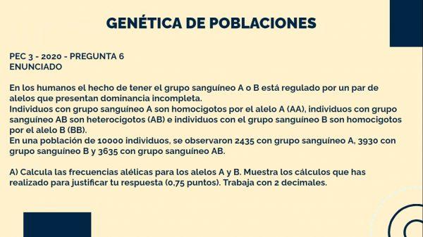 Genética de Poblaciones PEC